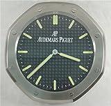 Audemars Piguet Luminous Silent Sweep Wall Clock Silver+Black