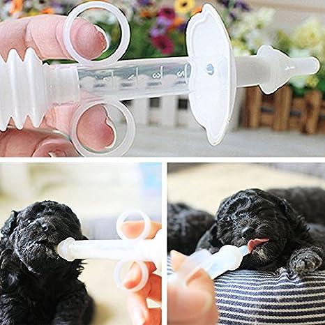 Wlgreatsp Biberón para Mascotas Cachorro Gatito Enfermería Alimentador de Leche para Agua Perro para Mascotas Gato Bady: Amazon.es: Productos para mascotas