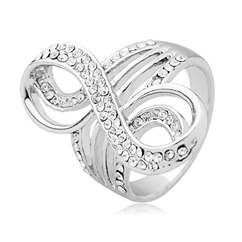 Inspired Jewelry Cartier (Moon Dust 925 Sterling Silver Elegant Finger Ring for Women (SJ_4128))