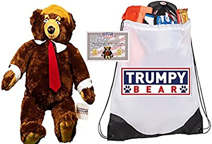 President Donald Trump Limited Edition Teddy Bear FREE SHIPPING TO USA