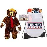 Deluxe Trumpy Bear, Certificate of Authenticity, Trumpy Bear Bag