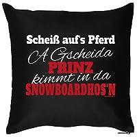 Snowboard Kissen. Witziges Zusatzkissen mit Füllung....