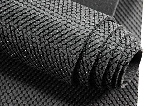 bestshared Professional Yoga Mat 100% Natural Rubber, 72