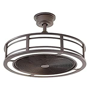 Brette Indoor Outdoor Ceiling Fan With Two 23w Led Light