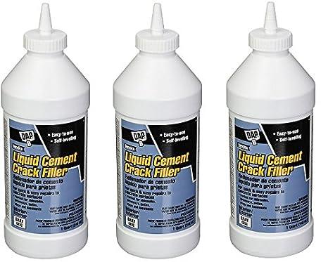 Amazon.com: Dap 37584 líquido cemento Crack filler-quart ...