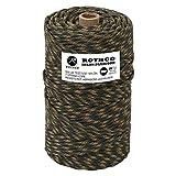 Rothco 550 Pound Nylon Paracord, Camo - 300 Foot Spool