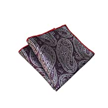Sitong Men printed pocket square satin handkerchief
