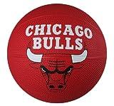 Spalding NBA Chicago Bulls Mini Rubber Basketball