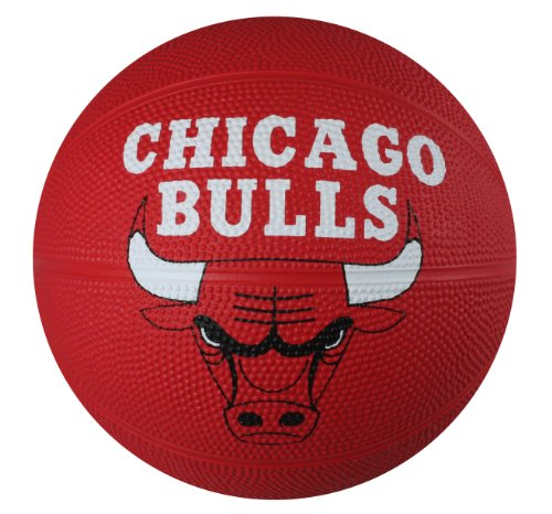 Spalding NBA Chicago Bulls Mini Rubber Basketball