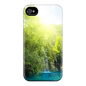 New Arrival Case Specially Design For Iphone 4/4s (sunny Waterfalls)