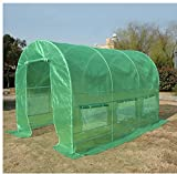 Mother's Day Sale Gift! Quictent® Greenhouse 15'x7'x7′ Arch LARGE Green Garden Hot House NEW! Review