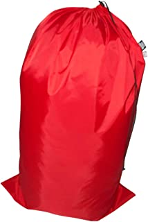 product image for Laundry Bag Heavy Duty Jumbo Sized Nylon Holds Approximately 40 lb Made in USA. (Red)