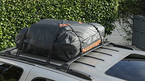 Rooftop Cargo Bag >> Keeper 07203-1 Waterproof Roof Top Cargo Bag (15 Cubic ...