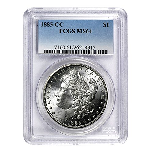 1885 CC Morgan Dollar $1 MS-64 PCGS