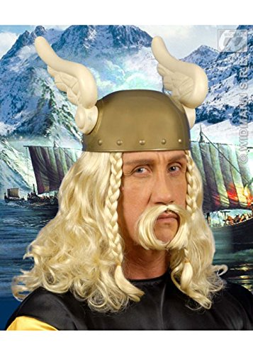 [Adults Asterix Style Blonde Gaul Wig and Moustache] (Costumes With Moustaches)