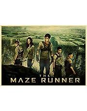Poster De Maze Runner classic Movie Poster Vintage Posters en prints retro poster Schilderen Thuis Room Decor 50 * 70 cm Geen Frame