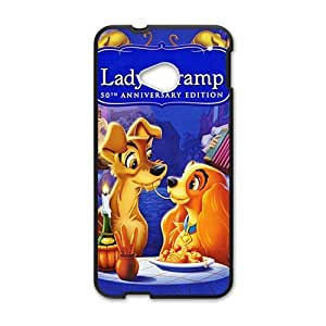 HUAH Lady and the tramp Cell Phone Case for HTC One M7