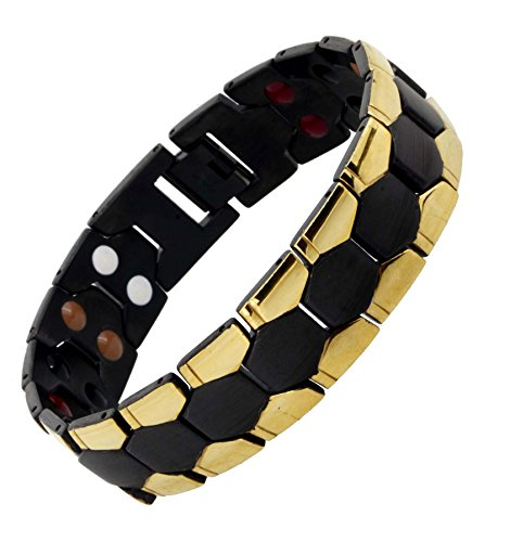 Magnetic Silver Masculine Stainless Bracelet product image