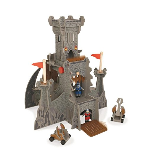 Wooden Castle Playset - 8