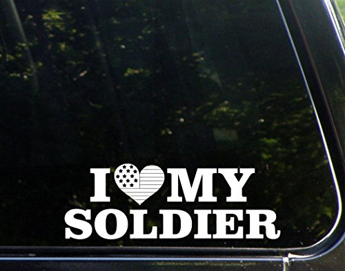 I LOVE My Soldier - 8 3/4