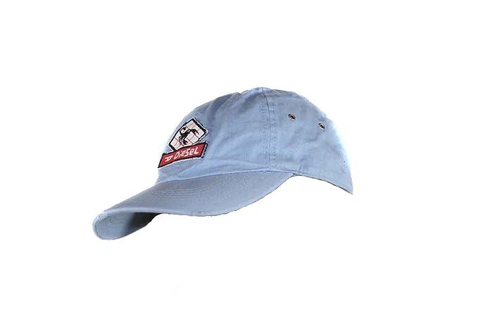 Diesel Gorra Sombrero Capy Berretto Ejército Ziky Talla Única - azul claro, talla única