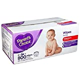 quilted baby wipes - Parent's Choice Fresh Scent Baby Wipes, 800 Sheets