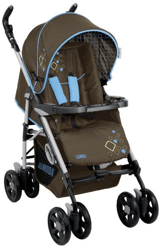 Mia Moda Libero Elite Stroller, Browny Ciel by Mia Moda