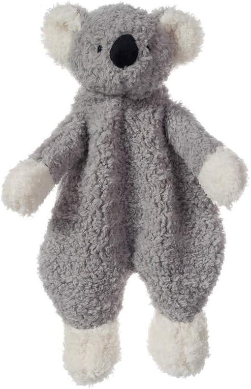 Apricot Lamb Stuffed Animals Security Blanket Gray Koala Infant Nursery Character Blanket Luxury Snuggler Plush(Gray Koala, 10 Inches)