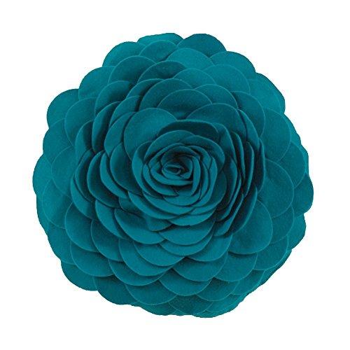 Eva's Flower Garden Decorative Throw Pillow Insert - 13 Inch Round