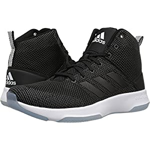 Adidas Neo Men's CF Executor Mid Basketball-Shoes, Utility Black/Black/White, 11 Medium US