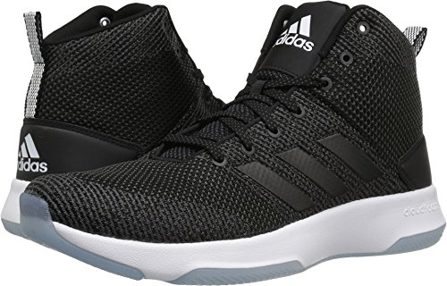 fan products of adidas Men's CF executer Mid Basketball-Shoes, Utility Black/Black/White, 10.5 Medium US
