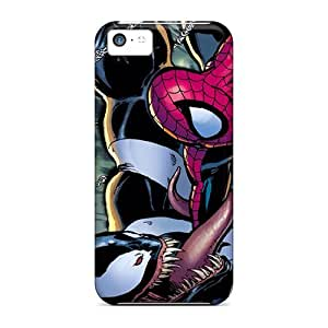Hot Snap-on Spiderman Venom Hard Covers Cases/ Protective Cases For Iphone 5c