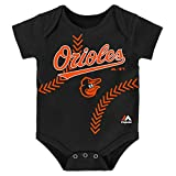Baltimore Orioles Infant Onesie Size 18 Months Bodysuit Creeper - Black