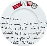 Konitz Coffee Bar Amore Mio No.12 Plates, Set of 4