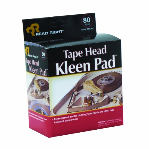 read-right-tape-head-kleen-cleaning-pads-80-pads-per-box-rr1301