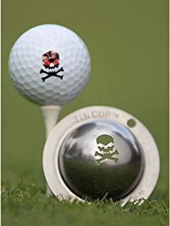 product image for Tin Cup The Jolly Roger Golf Ball Marking Stencil, Steel