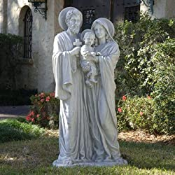 Design Toscano KY112448 The Holy Family Statue Size: Estate