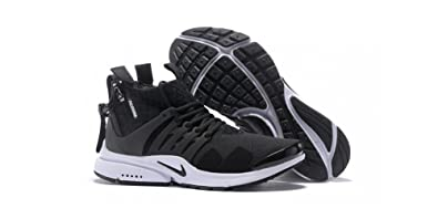 Nike Mens Acronym X Air Presto For Men (7.5, Black_White)