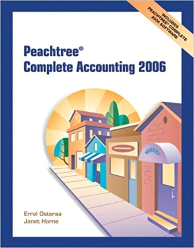 Book Peachtree Complete Accounting and Peachtree Complete CD 2006