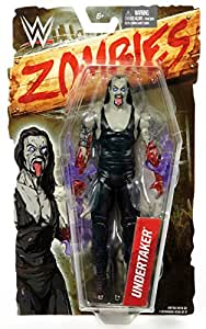 undertaker wwe zombies 1 mattel toy wrestling zombie action figure toys games. Black Bedroom Furniture Sets. Home Design Ideas