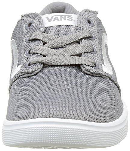 Vans Chapman Lite, Zapatillas Para Hombre Gris (Mesh Light Grey/White)