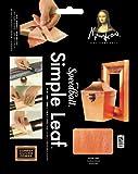 Speedball Mona Lisa Copper Simple Leaf, 18 Sheet Pack