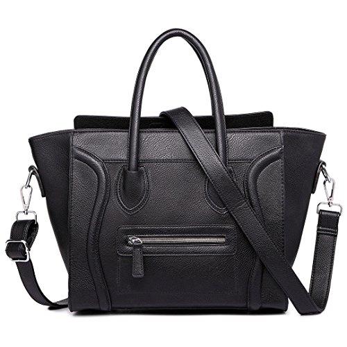 Bags & Purses - Black Cloth Bag Woman (black)