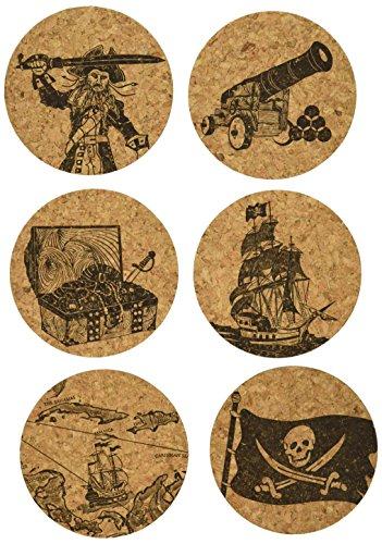 Corkology Pirates Coaster Set,