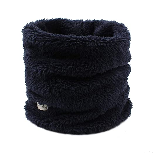 04c546420e2c7 Fleece Boys Girls Scarf Warm Winter Autumn Kids Collar Scarf Neck Warmer  Children Scarf 1-