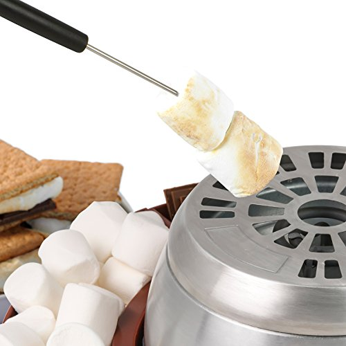 Nostalgia LSM400 Lazy Susan Electric Stainless Steel S'Mores Maker by Nostalgia (Image #1)
