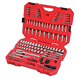 CRAFTSMAN Mechanics Tool Set, SAE / Metric, 135-Piece (CMMT12024)