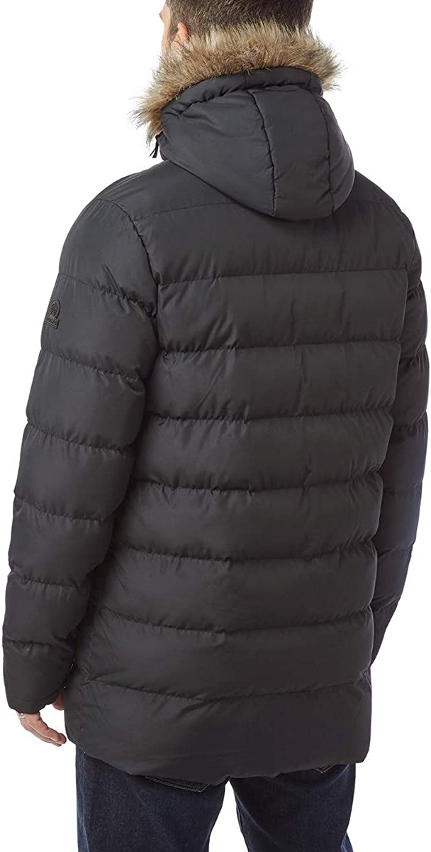 Tog24 Caliber Mens Long Insulated Jacket