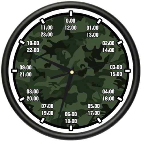 MILITARY TIME Wall Clock