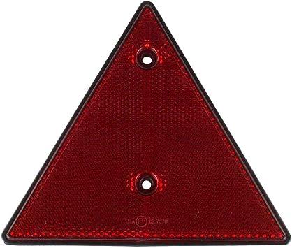 Reflektor Dreieck Dreieckreflektor Rückstrahler Rot 15 Cm Anhängerbeleuchtung Anhängersicherung Baumarkt